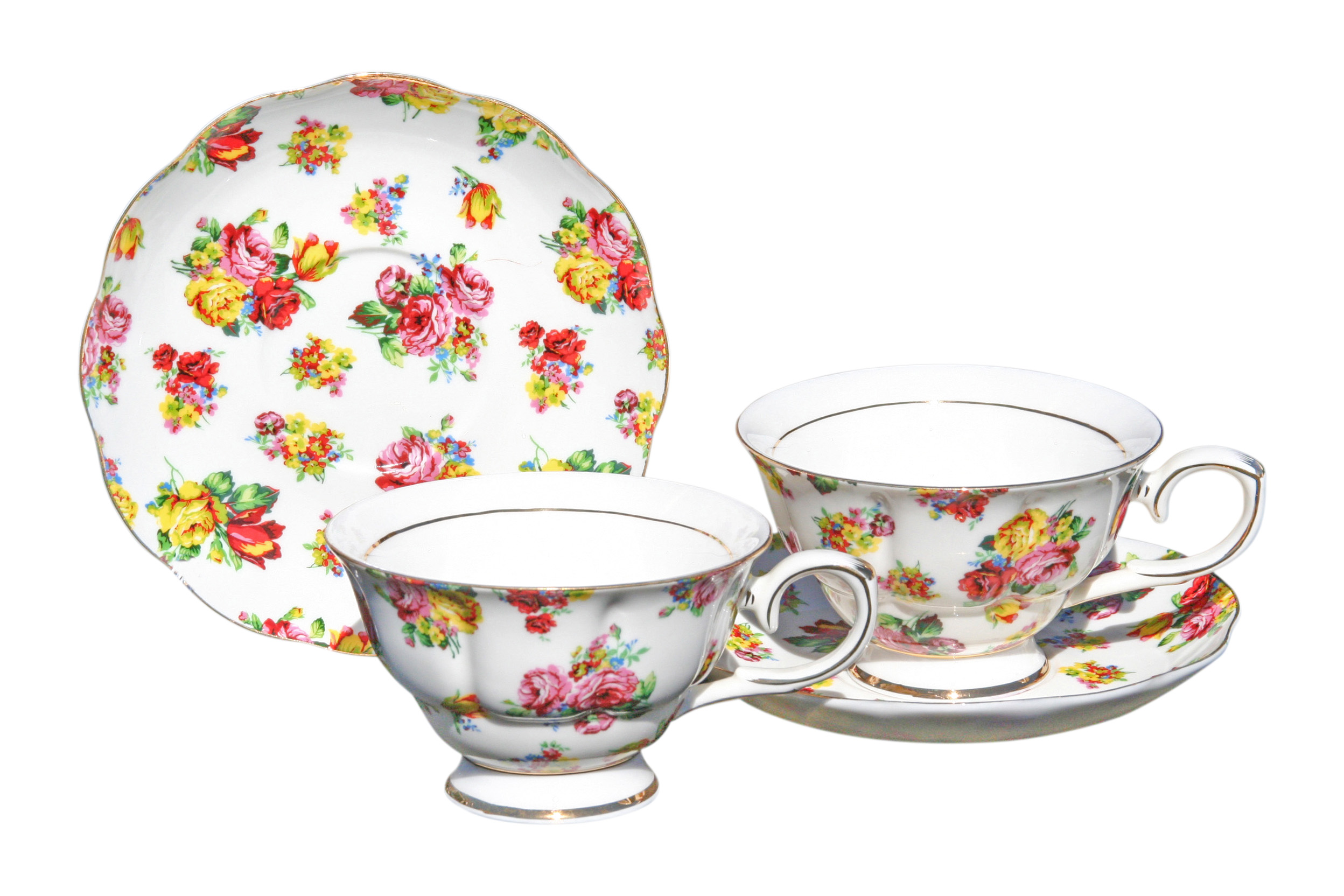 Georgina 2 Cup and Saucer Set