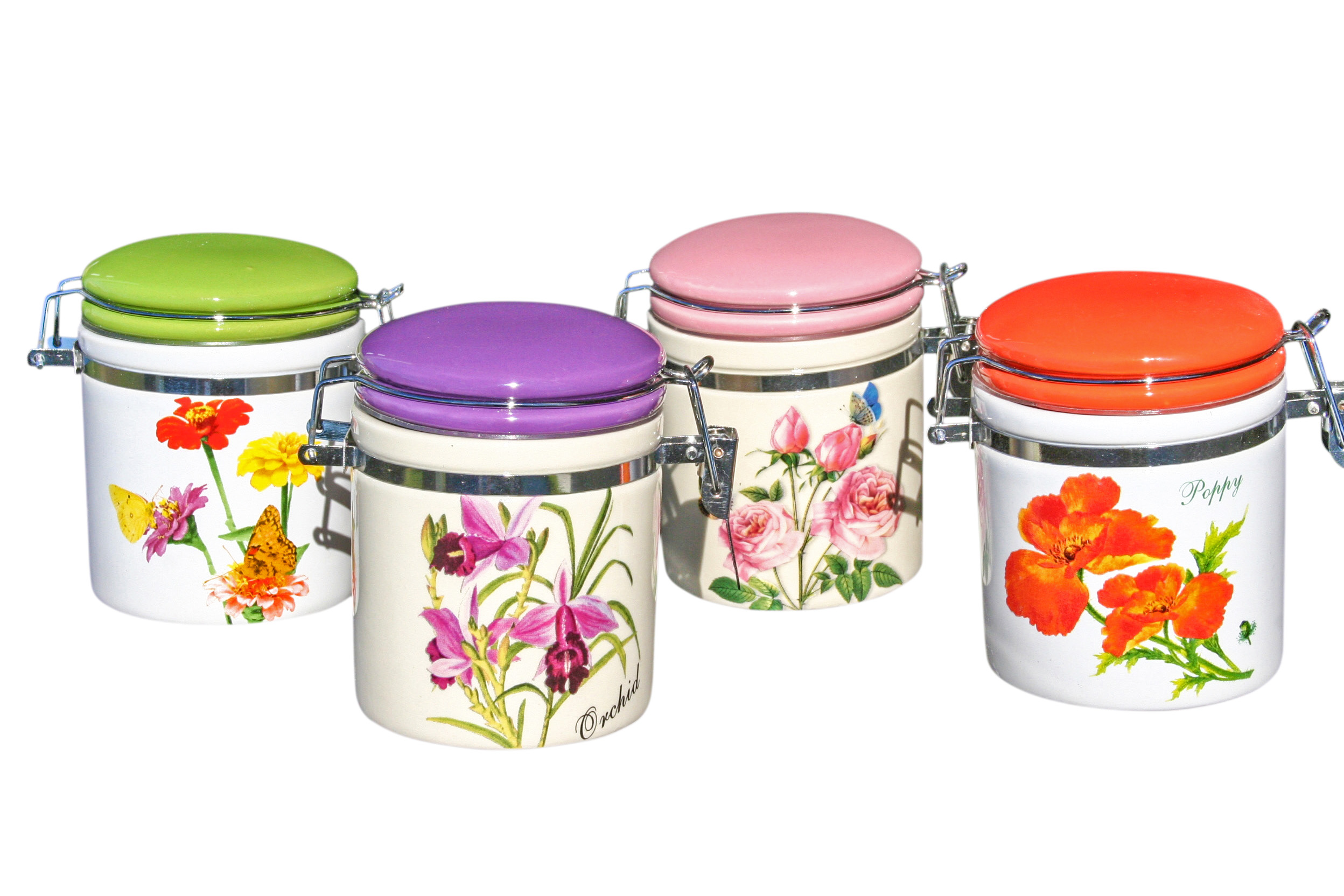 Mini Floral Cavalier Cannister