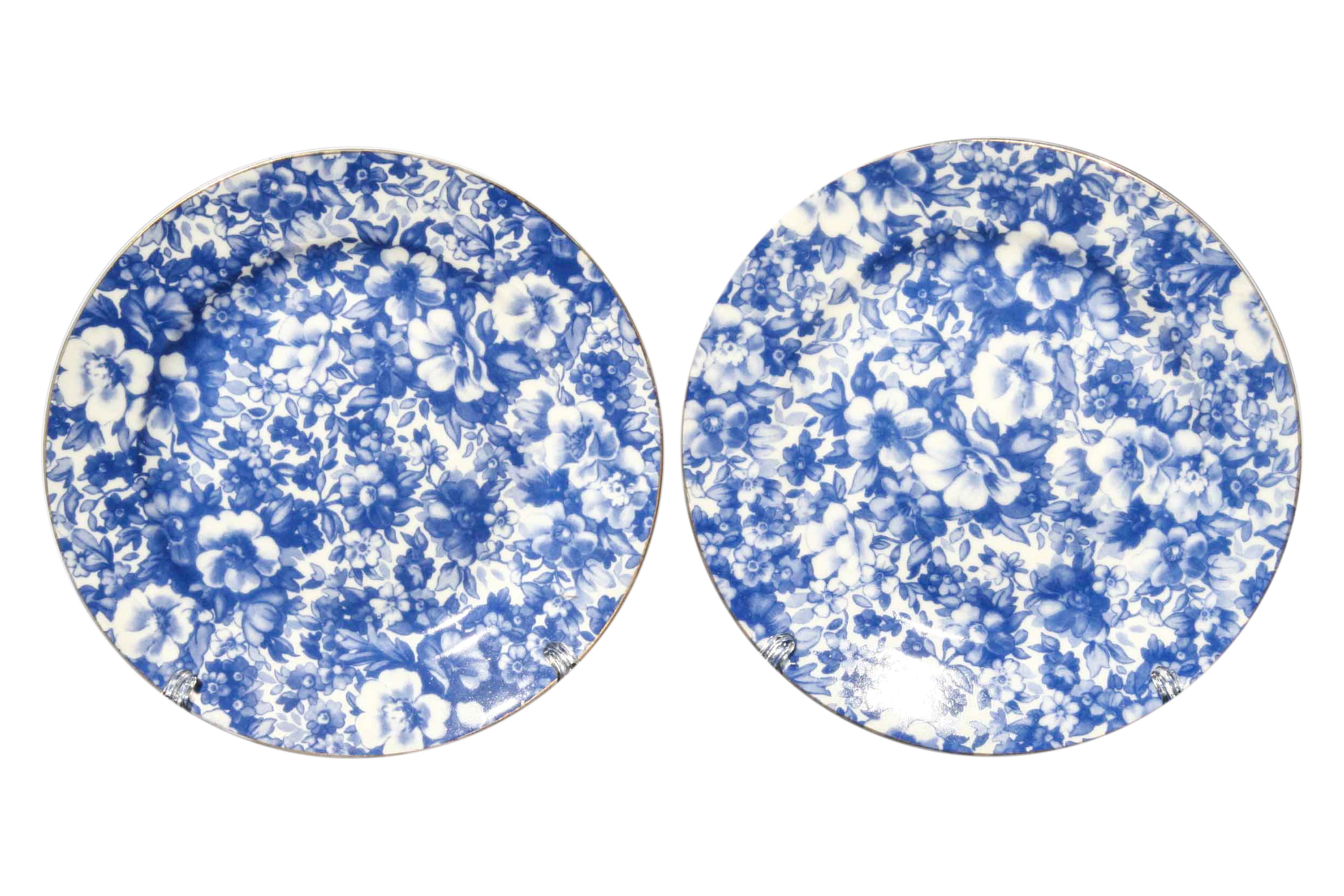 Blue Meadow 2pc Sideplate Set