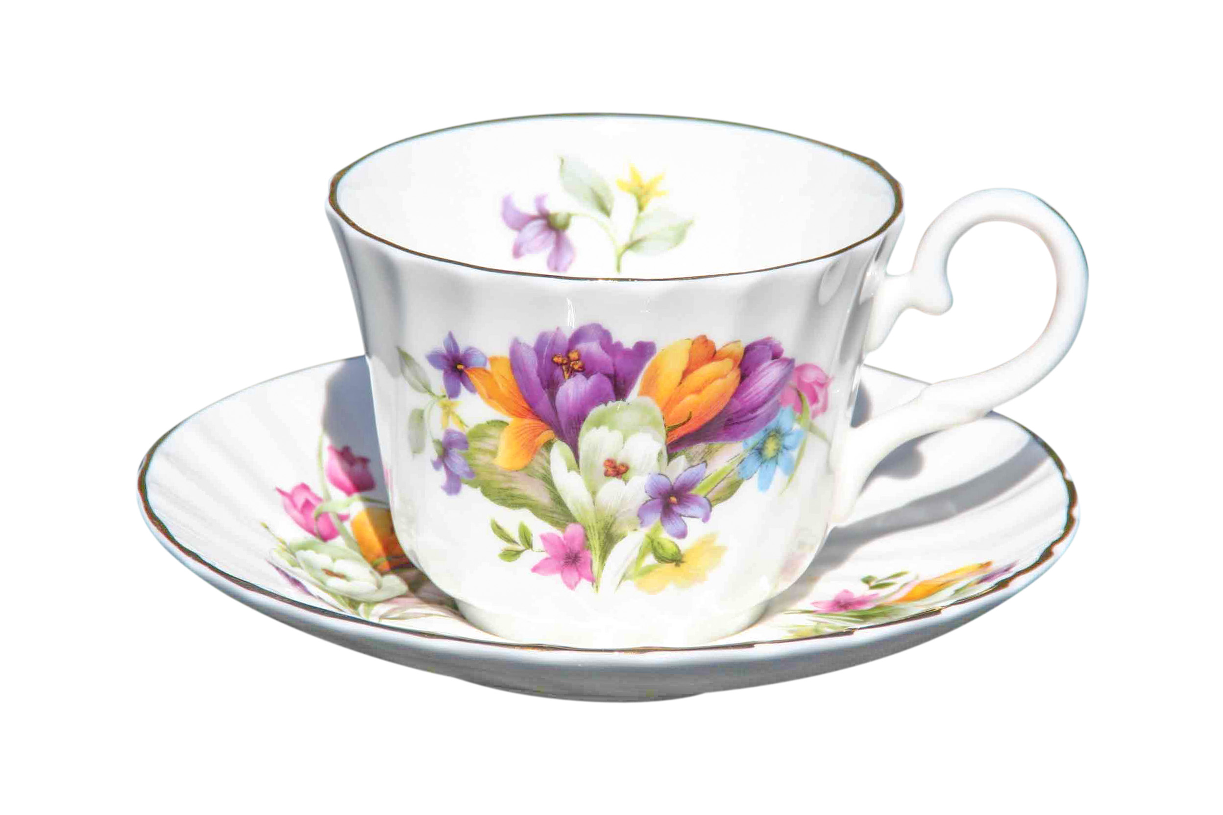 Crocus 1 Cup & Saucer Set
