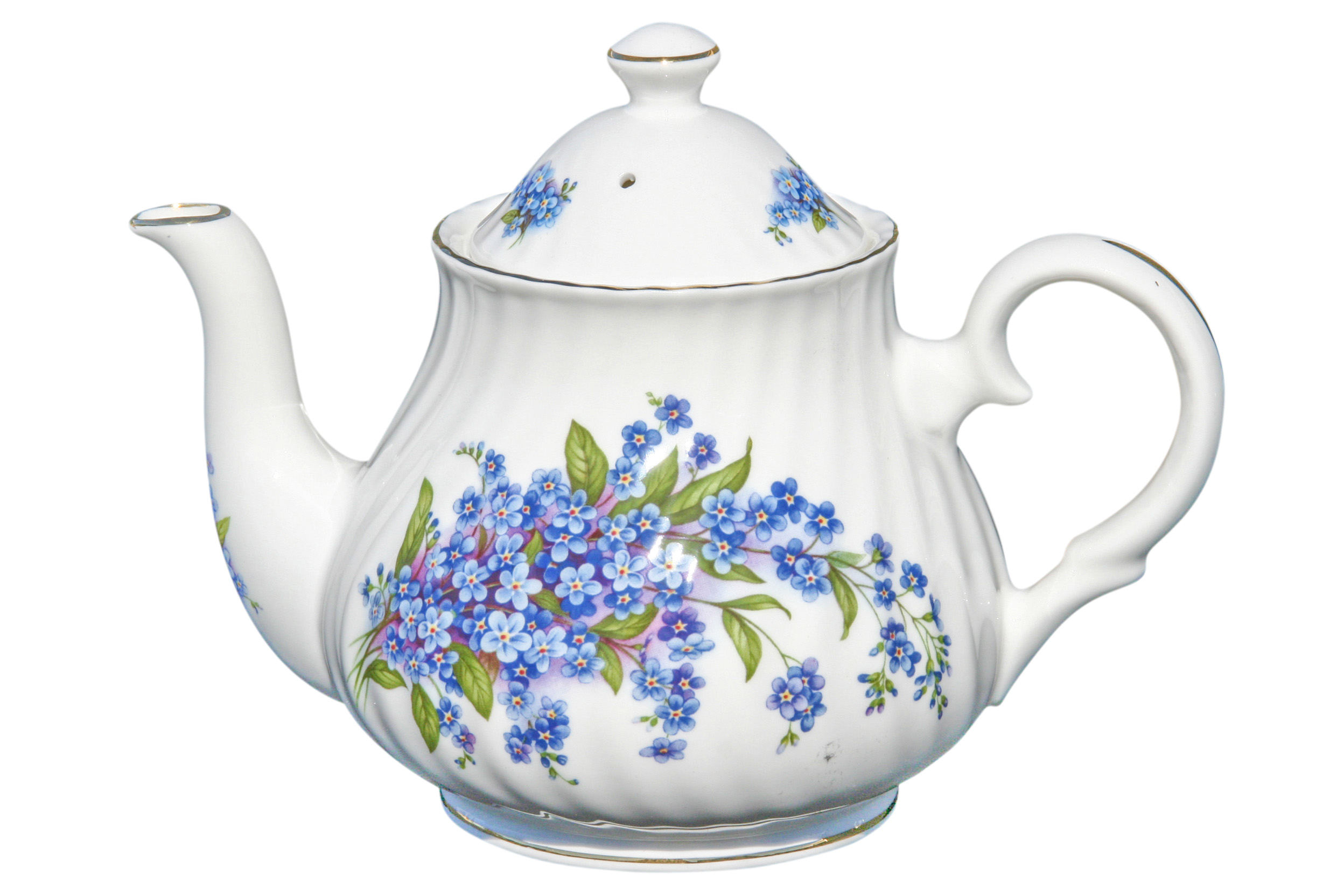 Forget Me Not 6 Cup Teapot