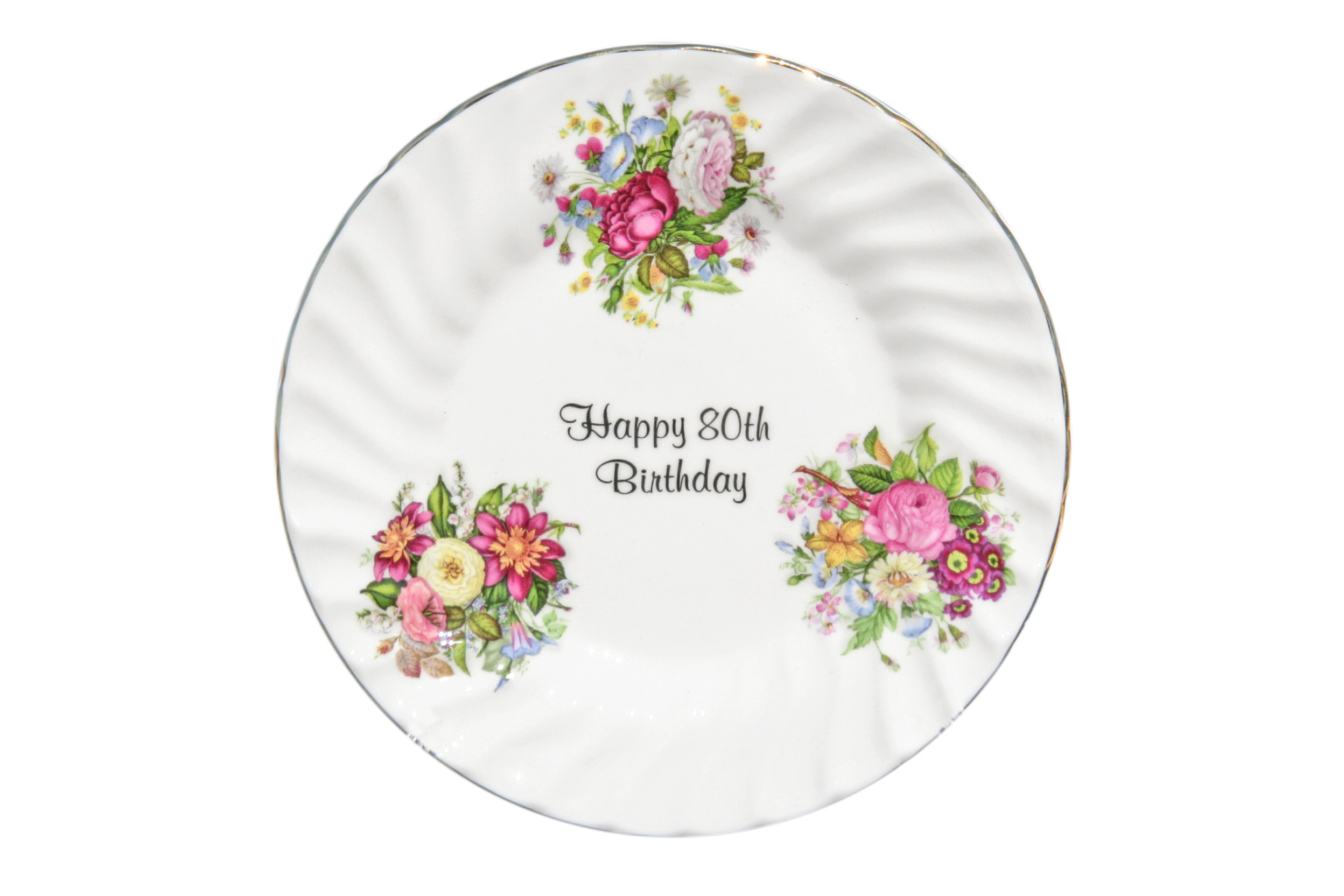 80th Birthday Cake/Display Plate