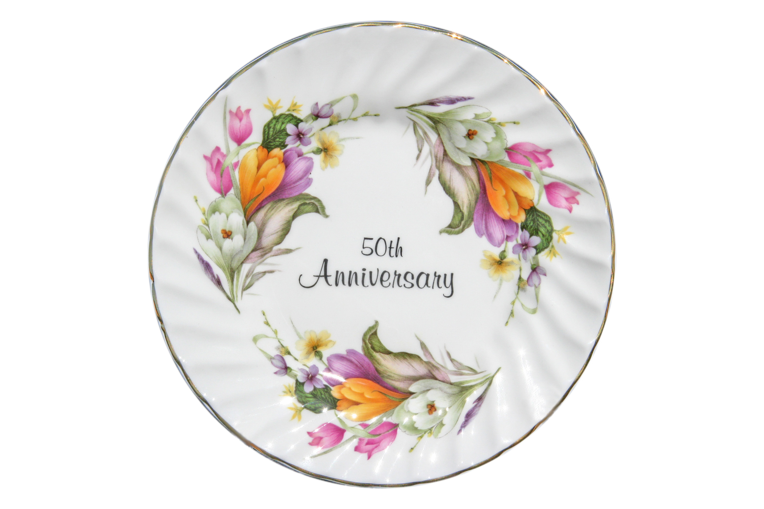 50th Anniversary Plate (6 inch) with stand