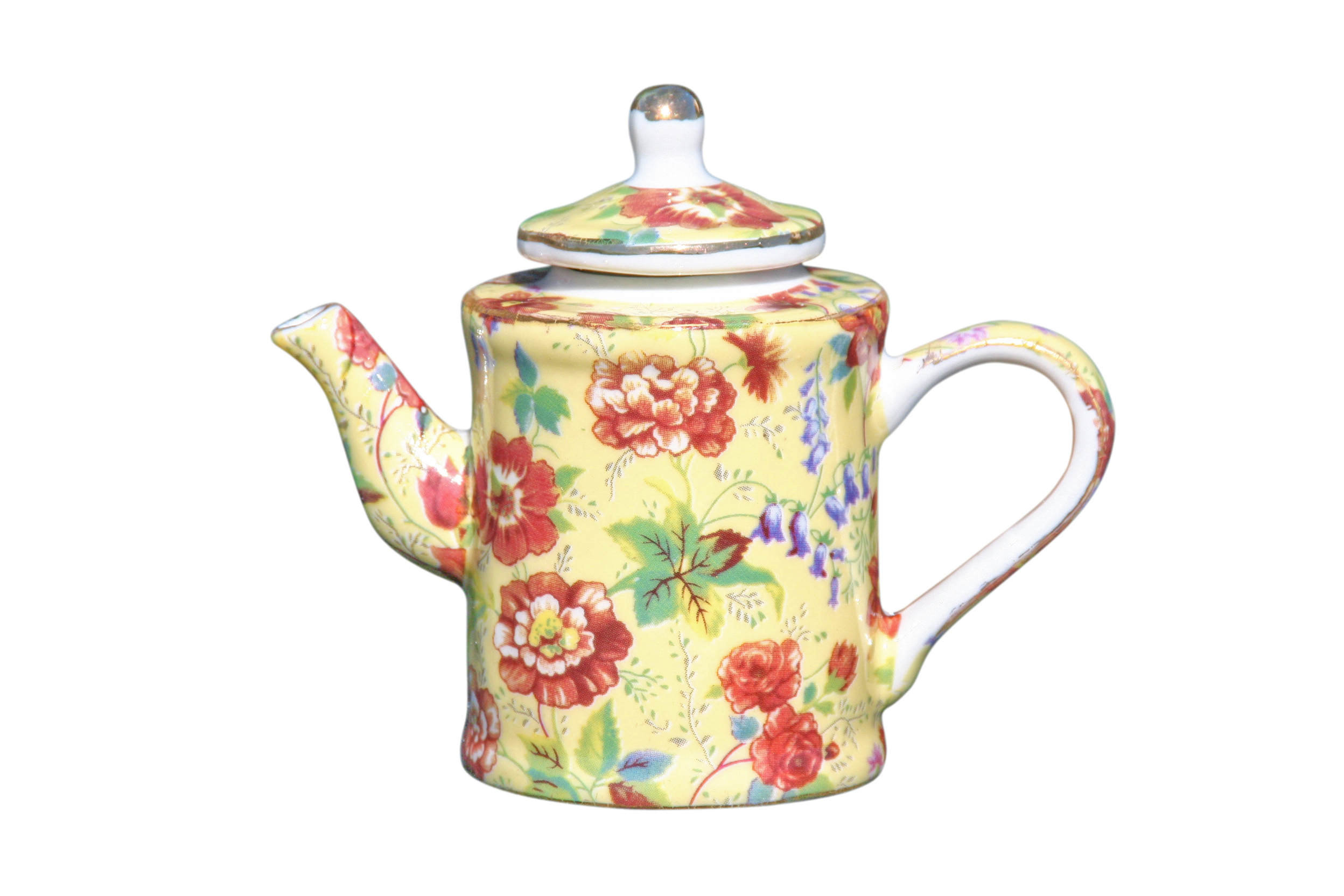 Cottage Life Mini Teapot Jug Shape