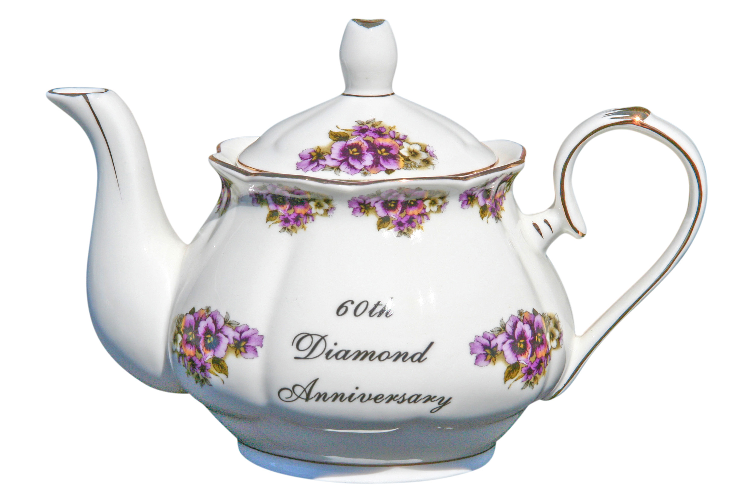 60th Anniversary 2 cup Teapot