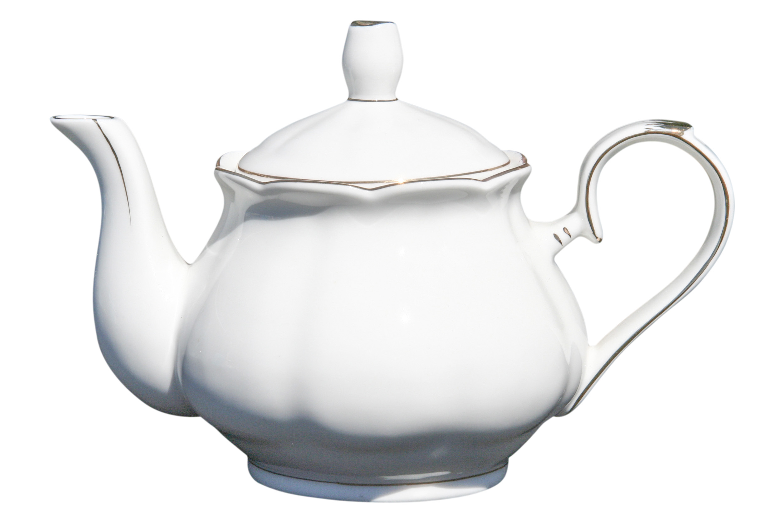 White Dove 4 cup Teapot