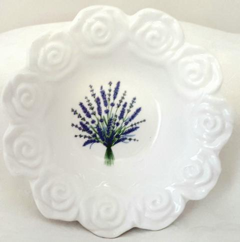 Lavender Bouquet Bowl