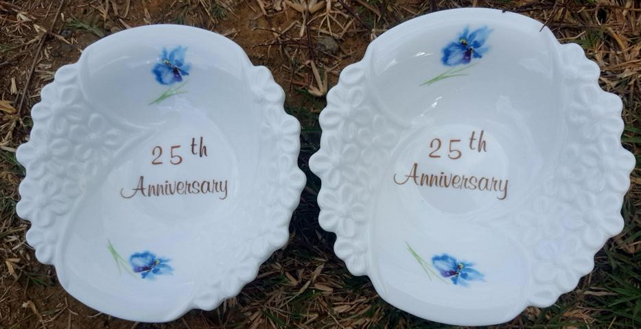 25th Anniversary Bowl set
