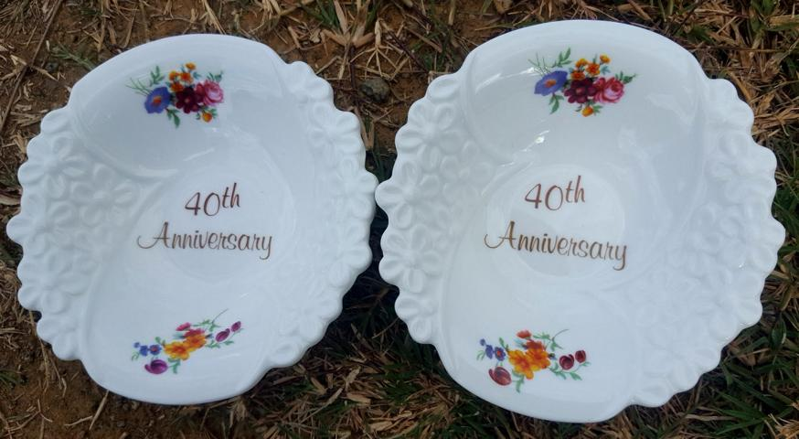 40th Anniversary Bowl Set
