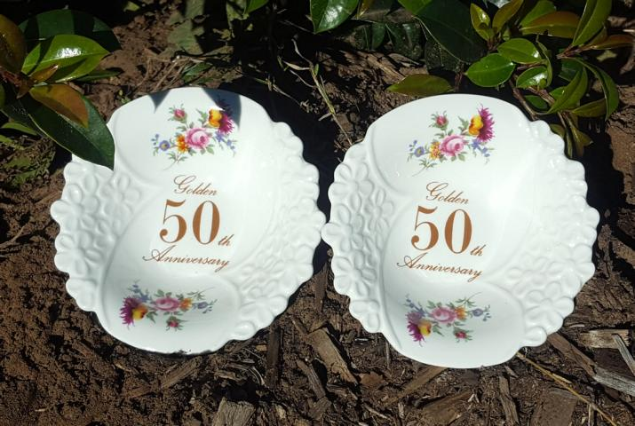 50th Anniversary Bowl Set Bouquet