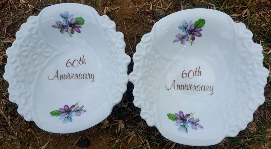 60th Anniversary Bowl Set