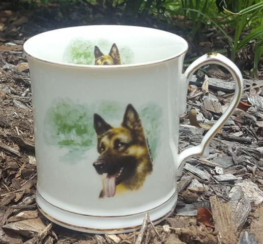 German Shepard Tankard Custom