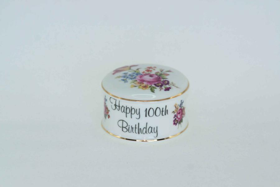 100th Birthday Trinket Box