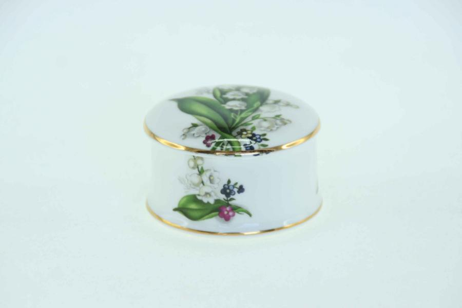 Lily of the Valley Trinket Box