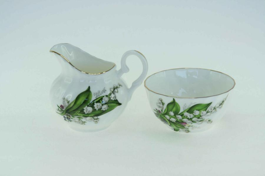 Lily of the Valley Sugar & Creamer Set