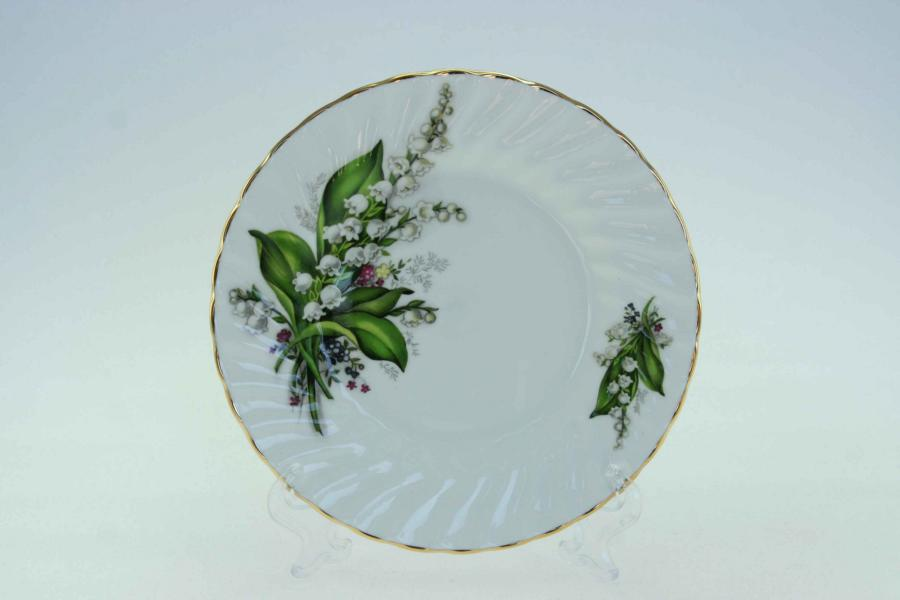 "Lily of the Valley 6"" Sideplate"