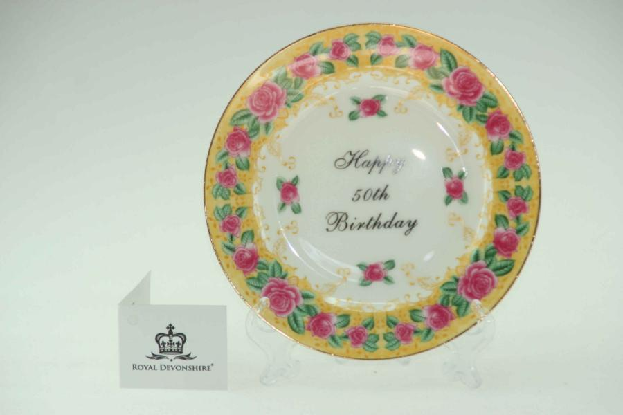 50th Birthday Cake/Display Plate