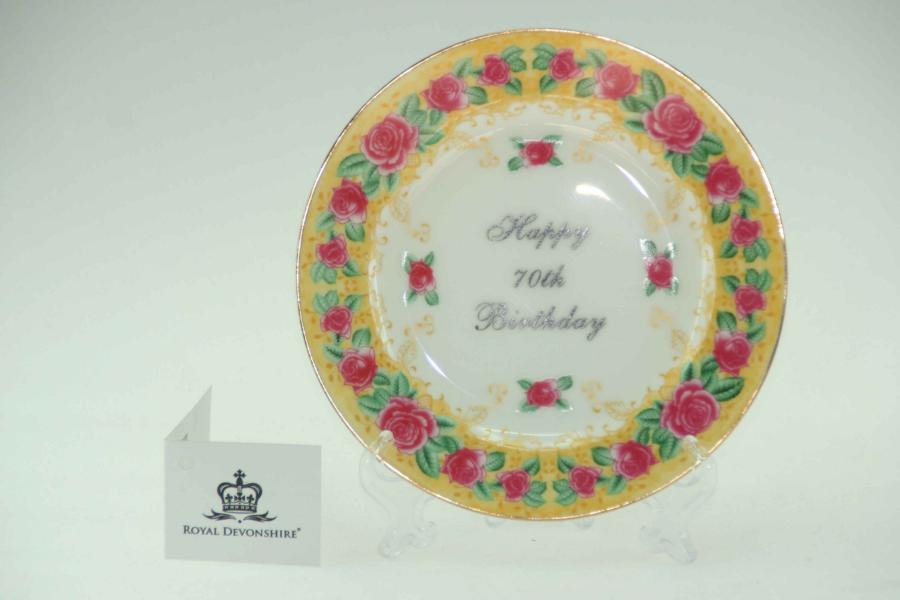 70th Birthday Cake/Display Plate