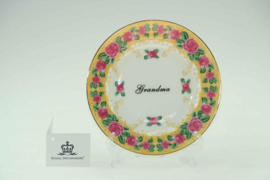 Grandma Cake/Display Plate