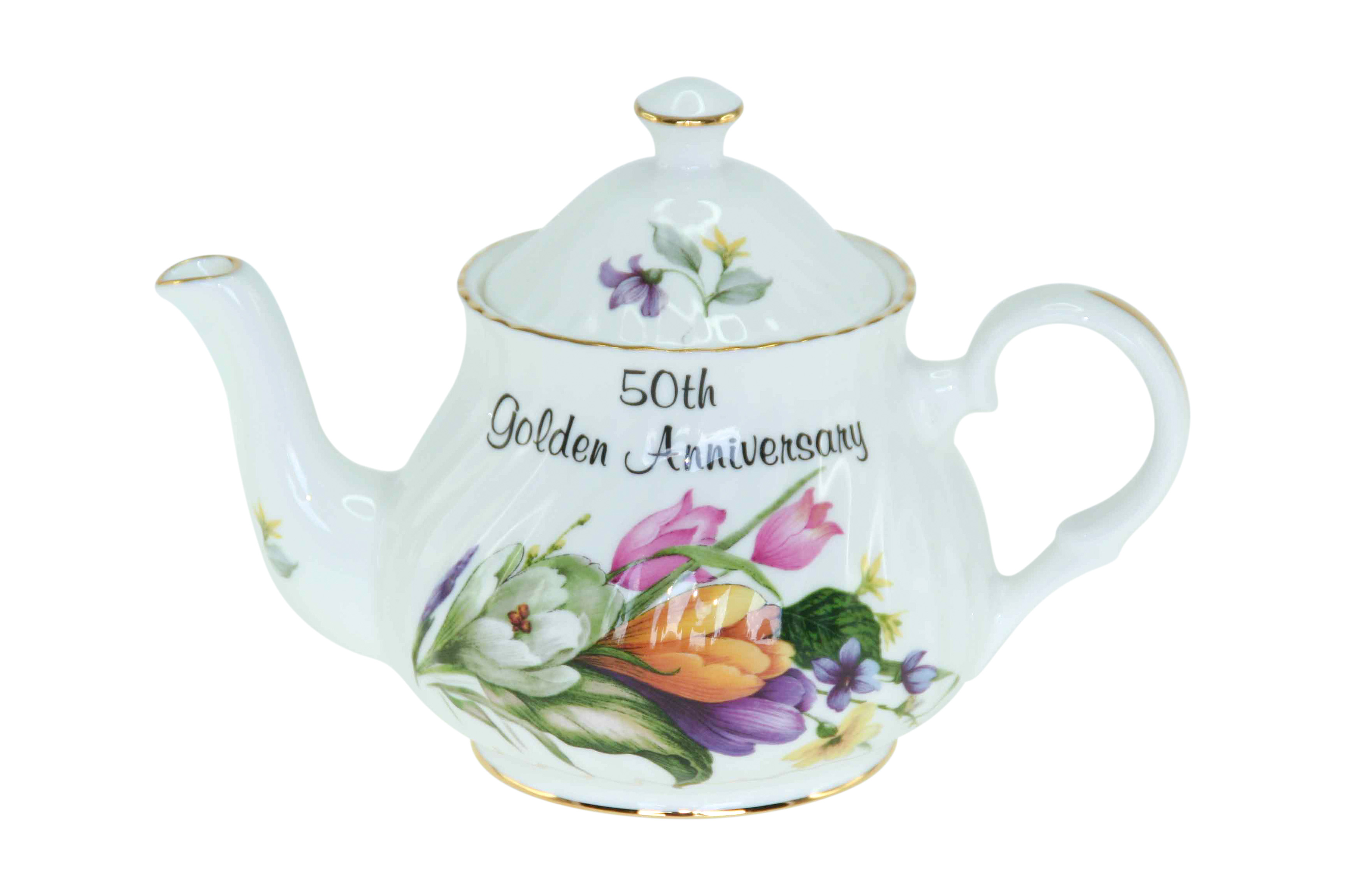 50th Golden Anniversary 2cup Teapot