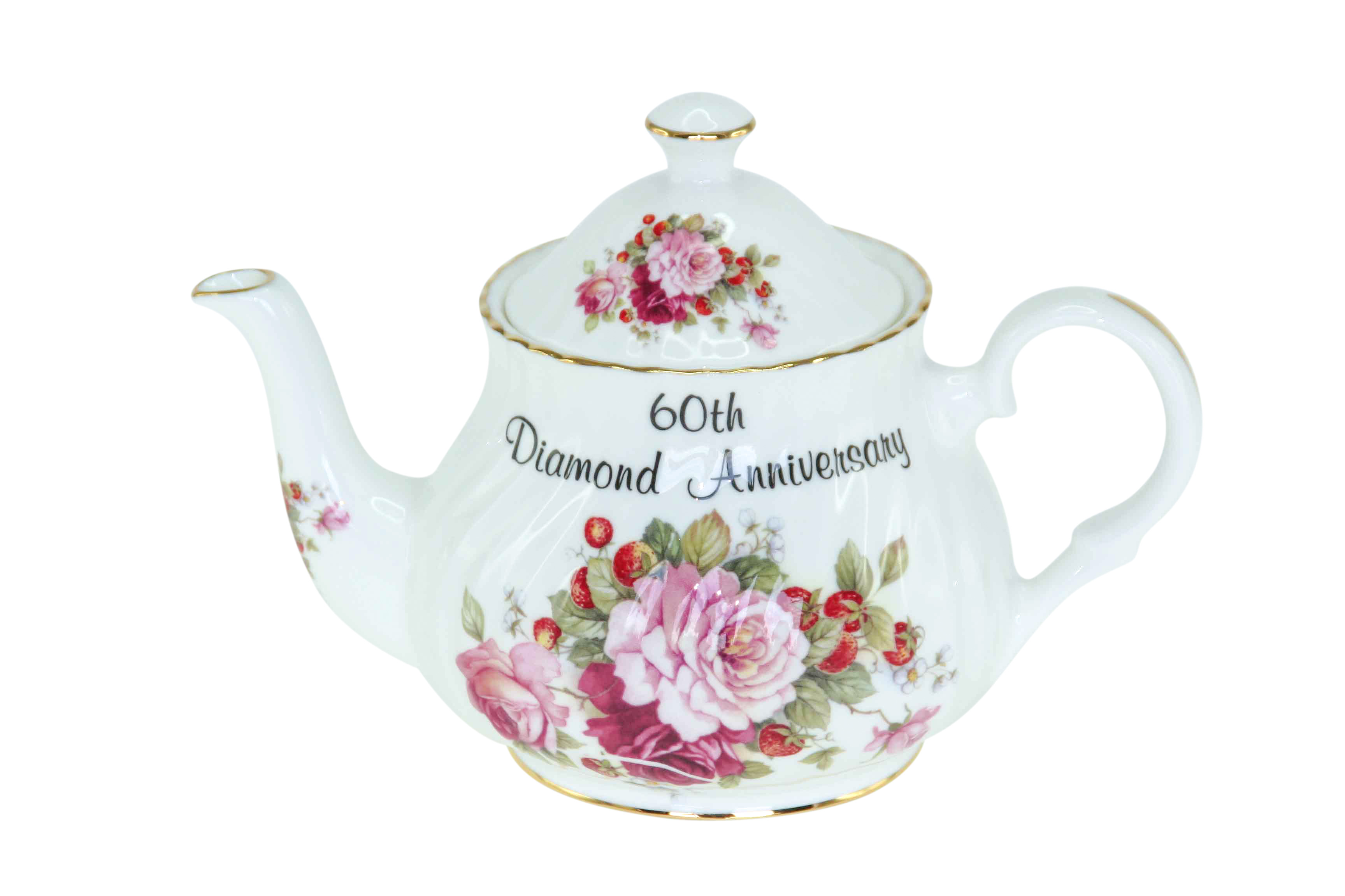 60th Diamond Anniversary 2cup Teapot