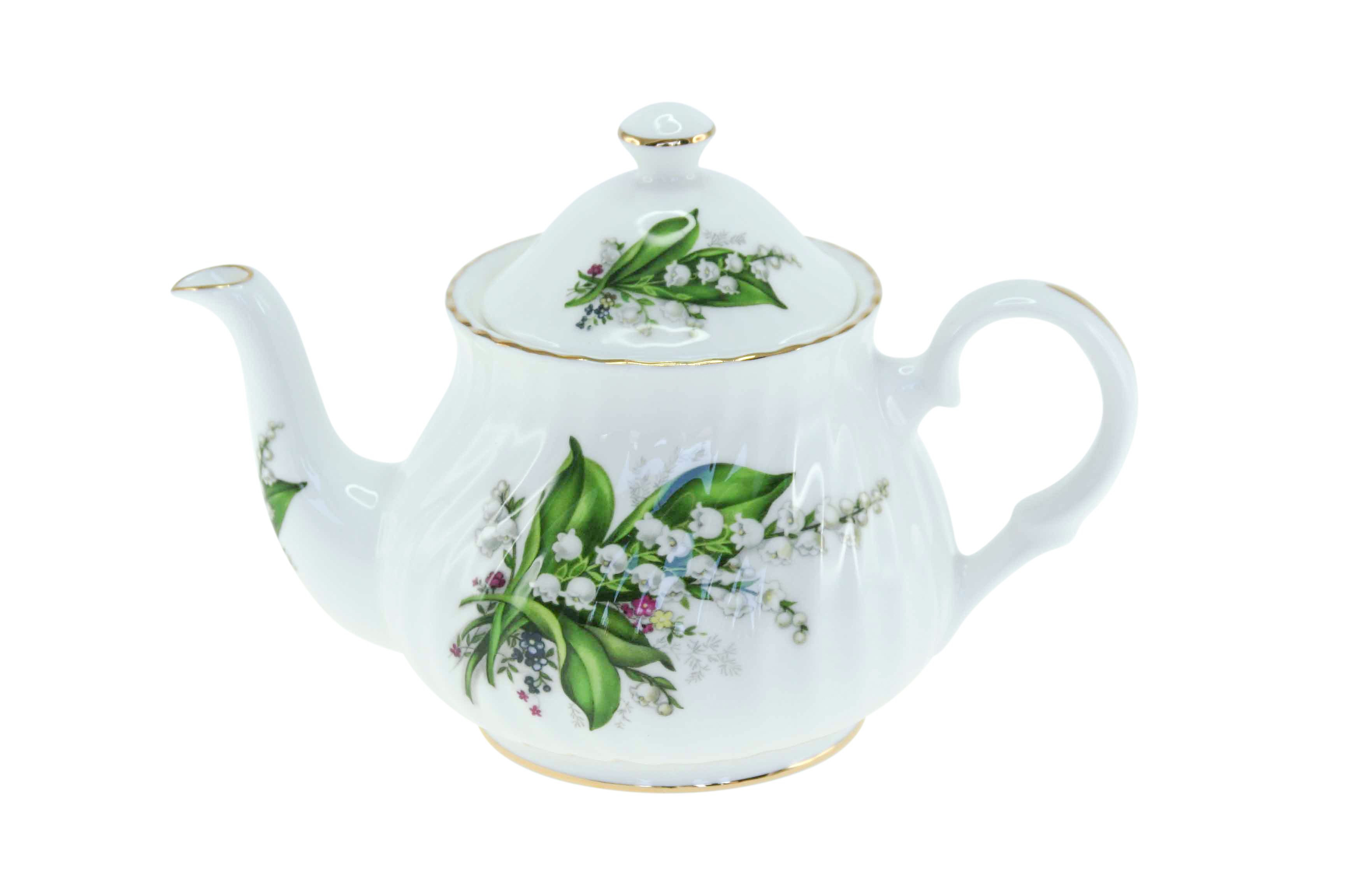 Lily of the Valley 2 cup Teapot