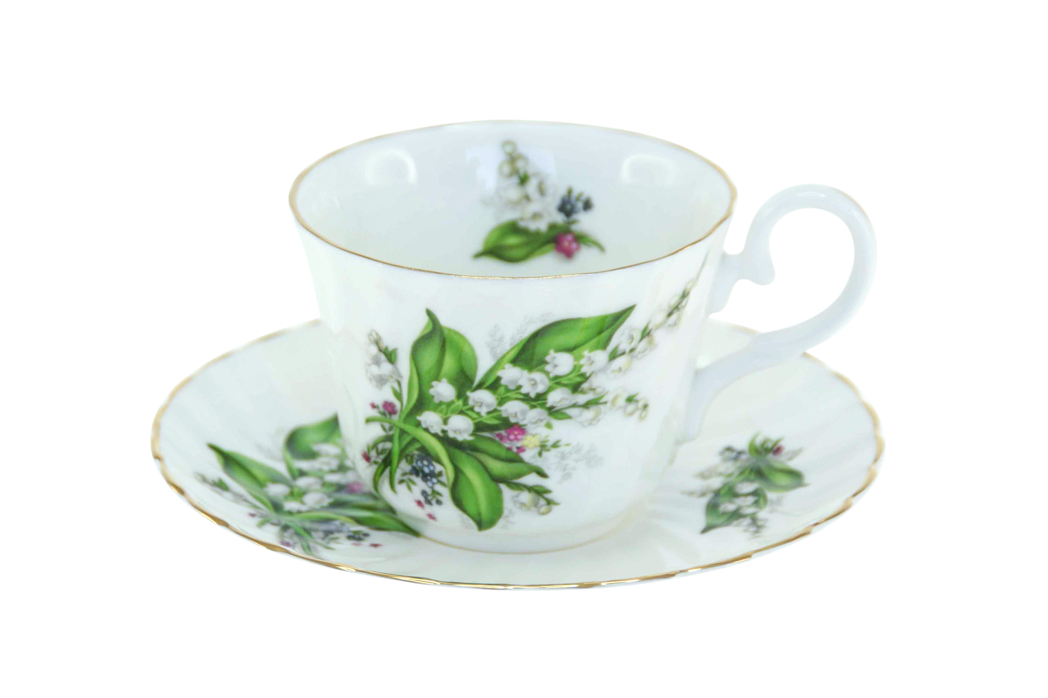 Lily of the Valley 1 Cup & Saucer Set