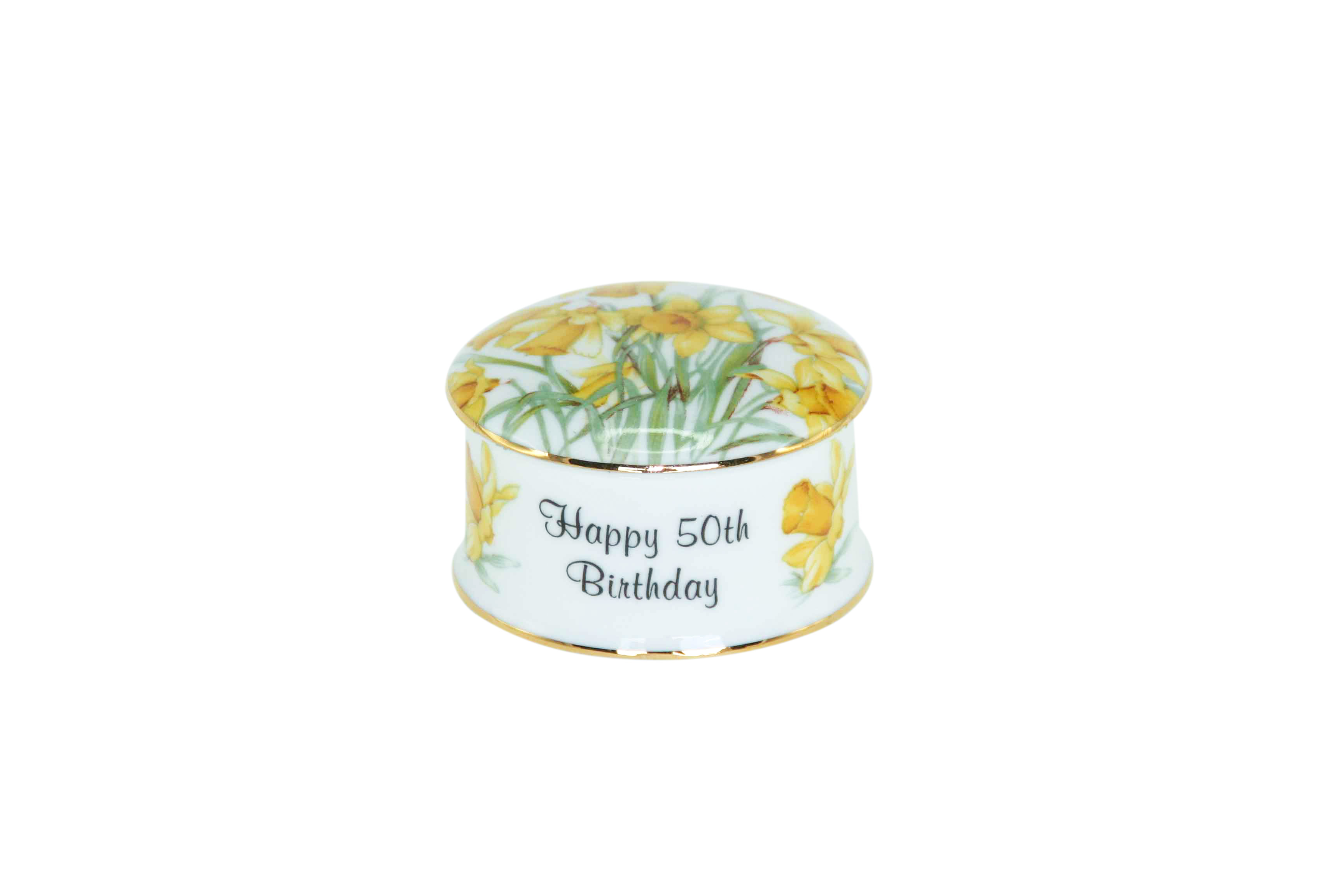 50th Birthday Trinket Box