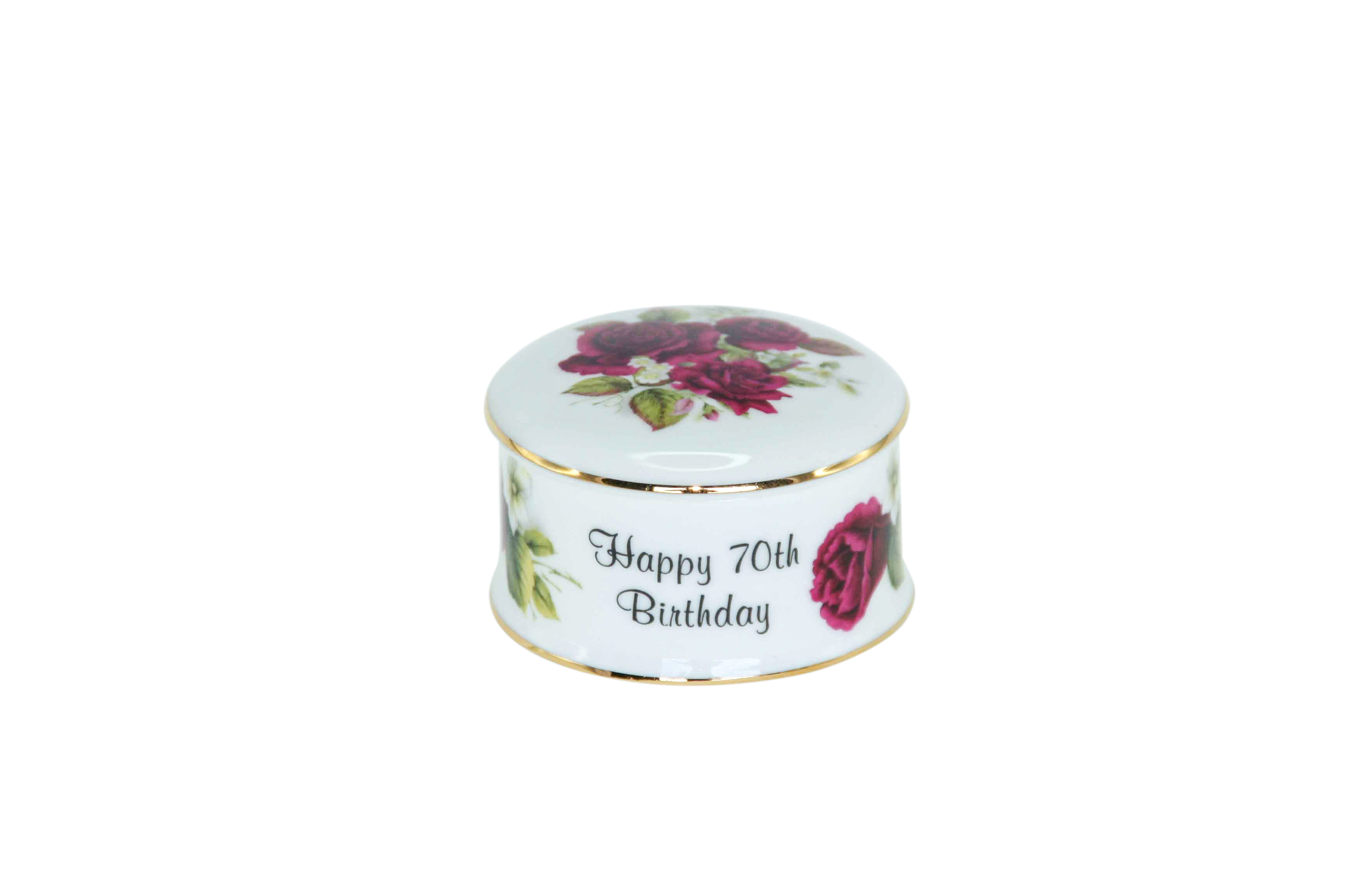 70th Birthday Trinket Box