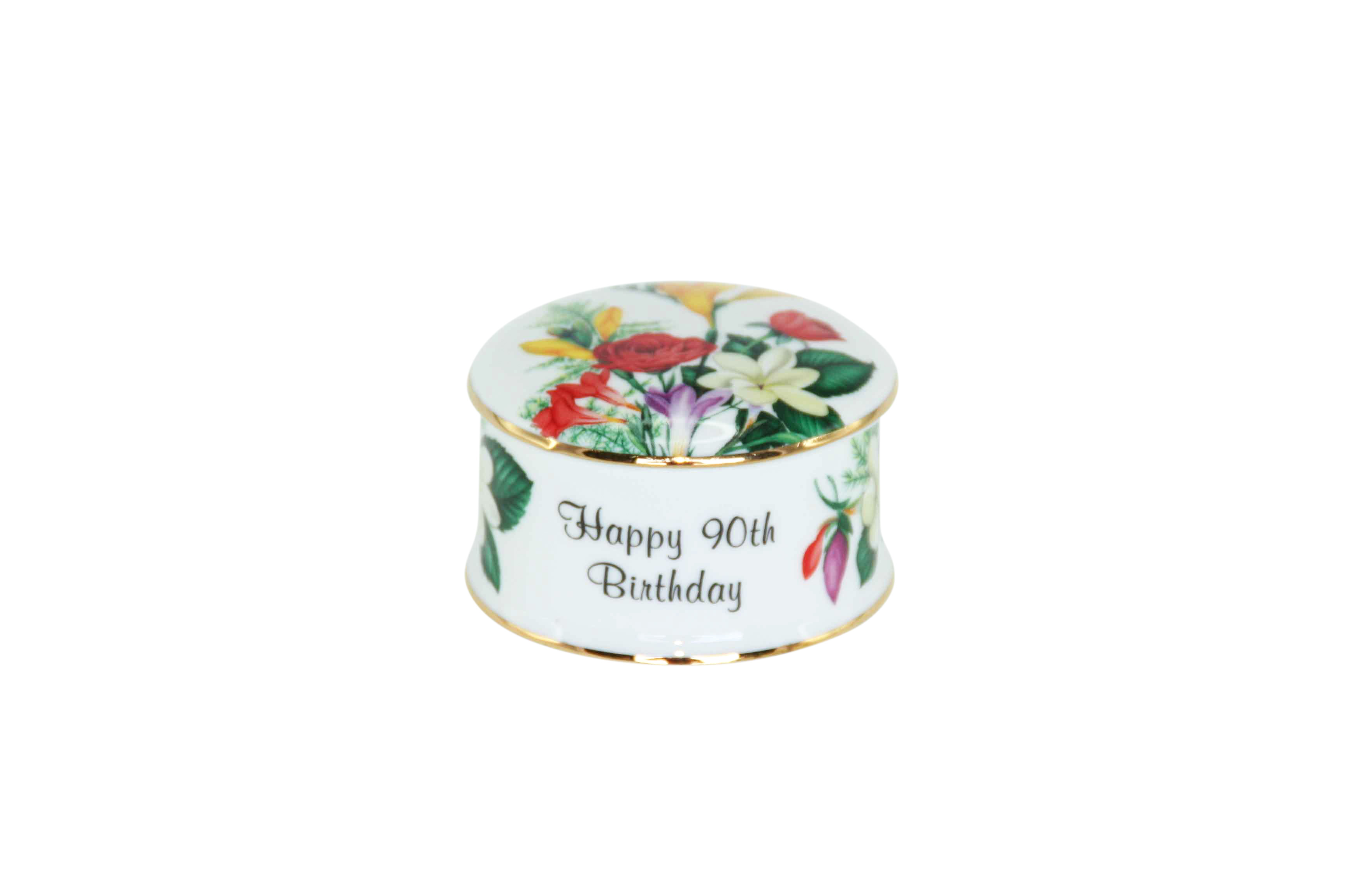 90th Birthday Trinket Box