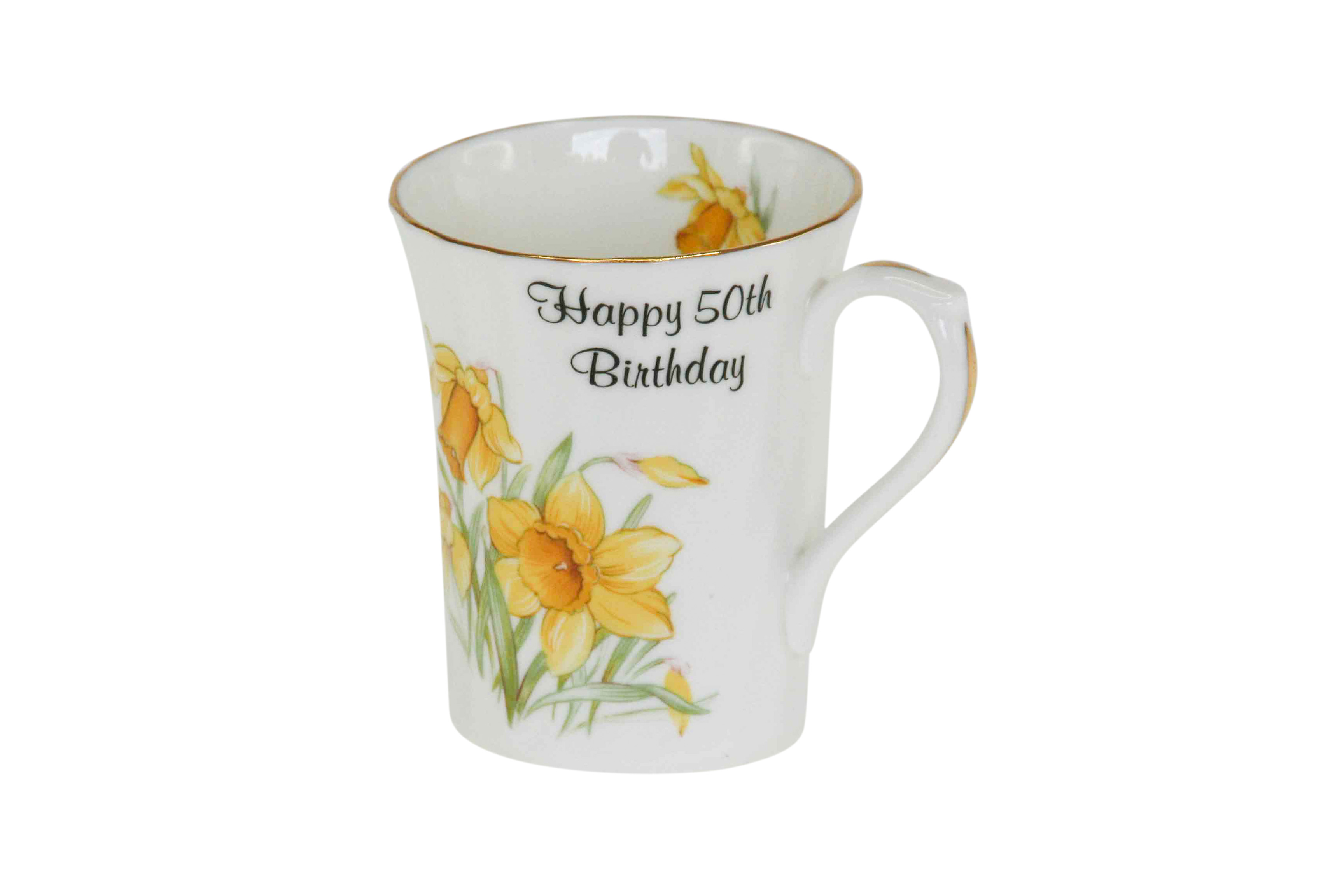 50th Birthday Swirl Mug