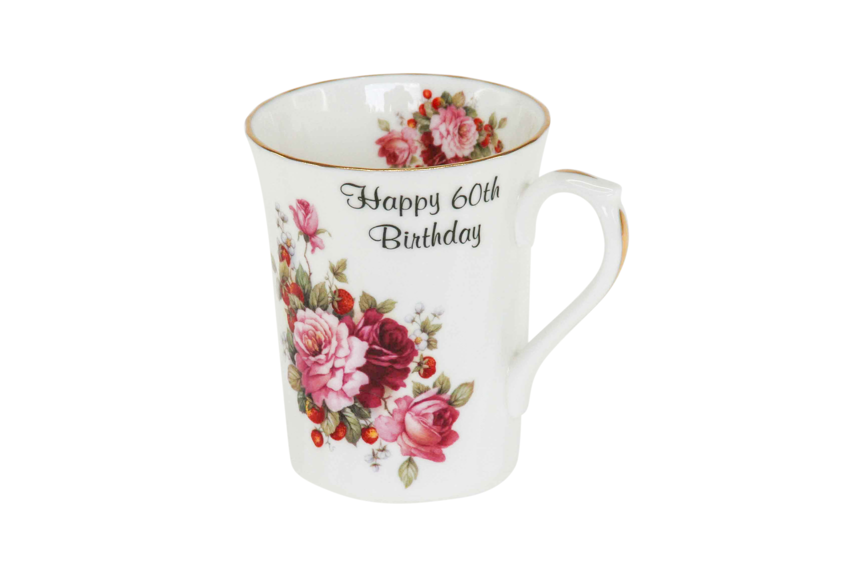 60th Birthday Swirl Mug