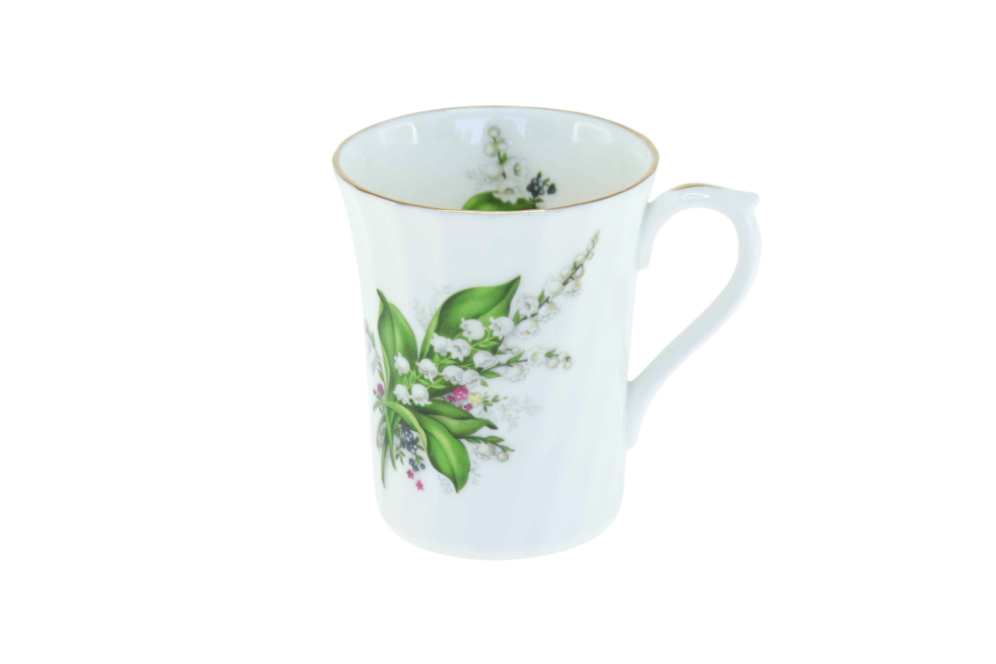 Lily of the Valley Swirl Mug