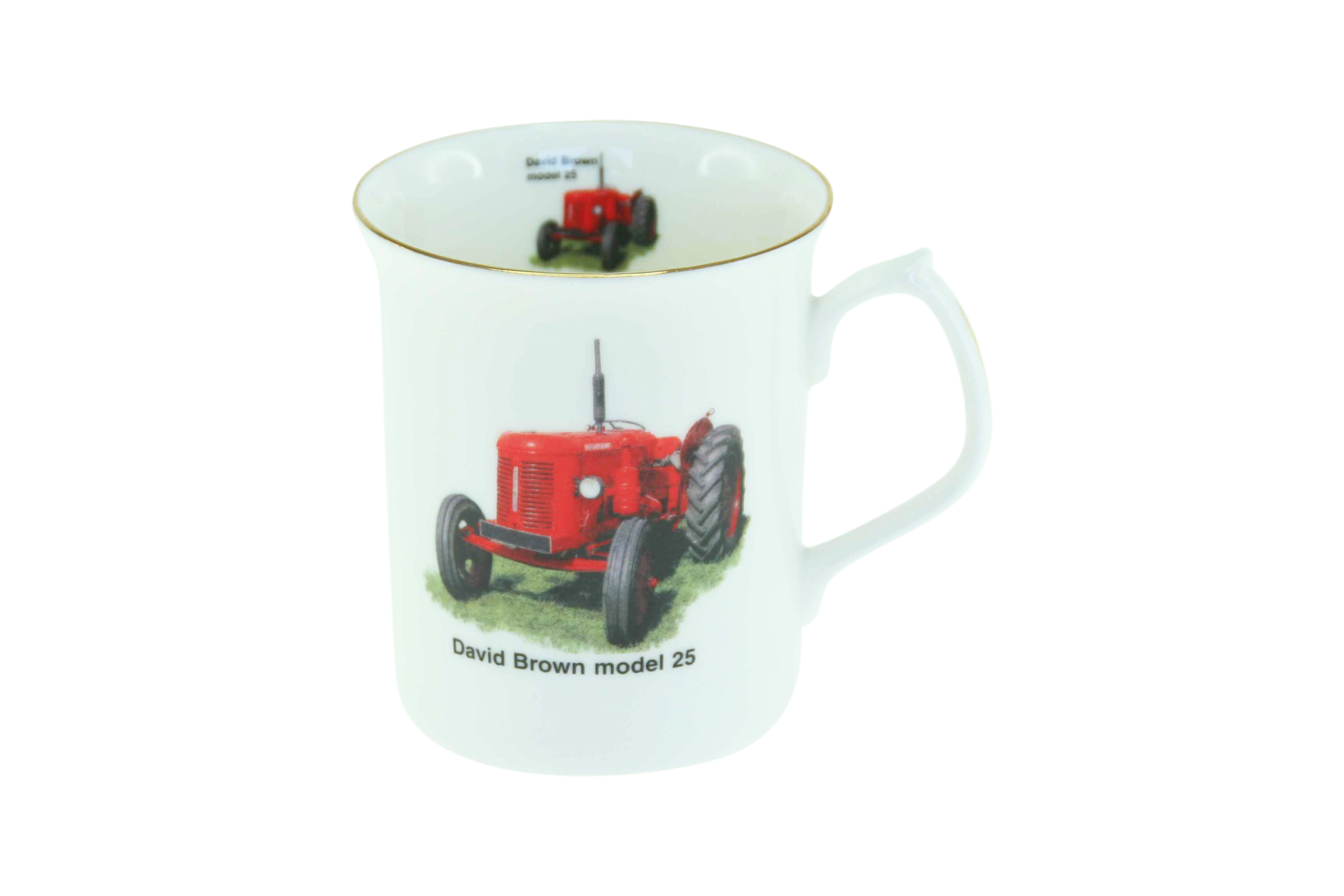 Tractor Tankard 4 David Brown model 25