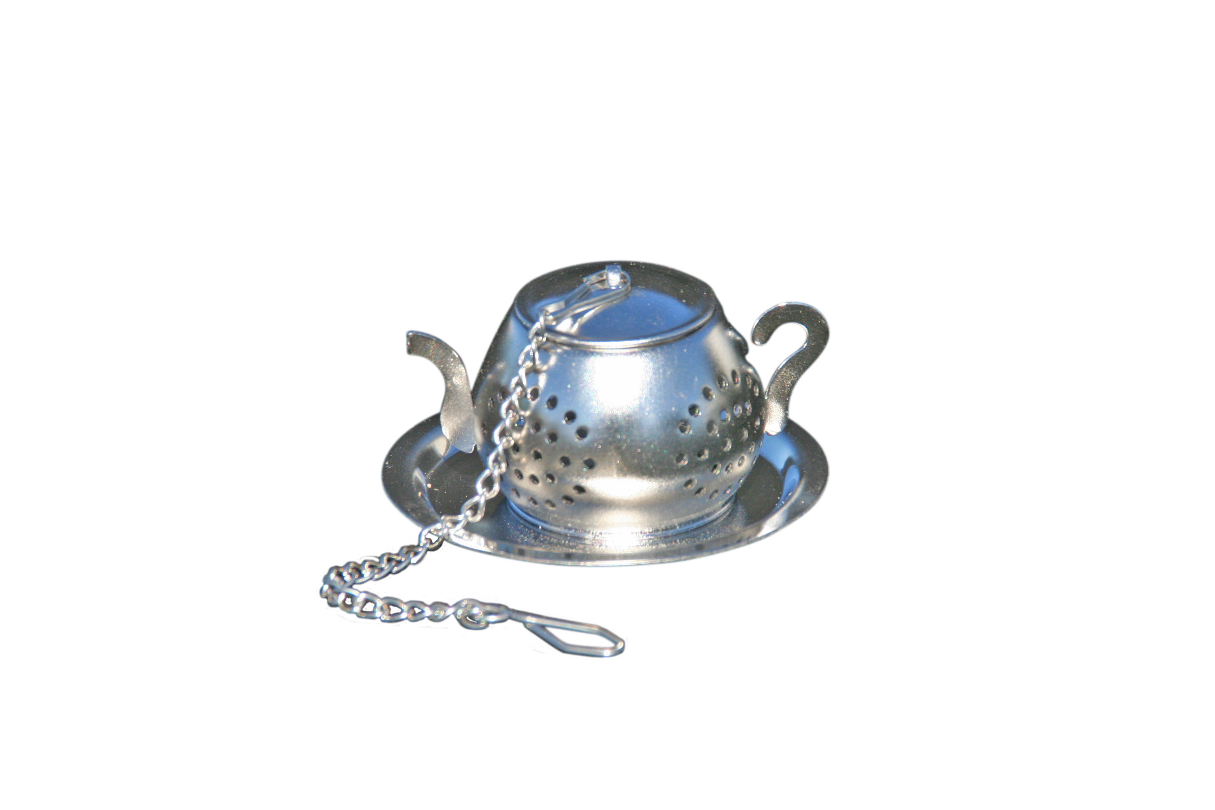Stainless Steel Infuser Teapot