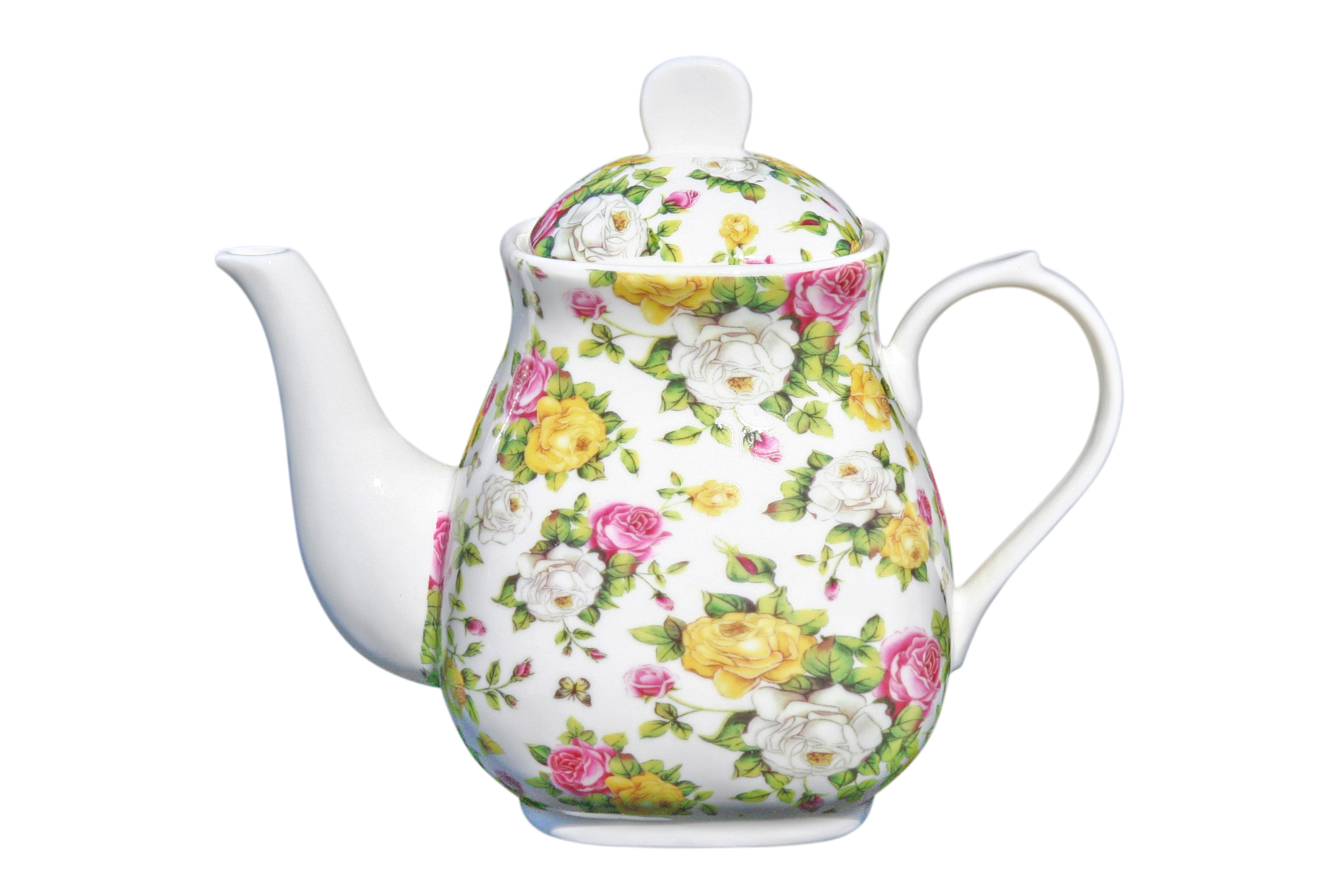 Large Teapot 1000mls Garden Bouquet