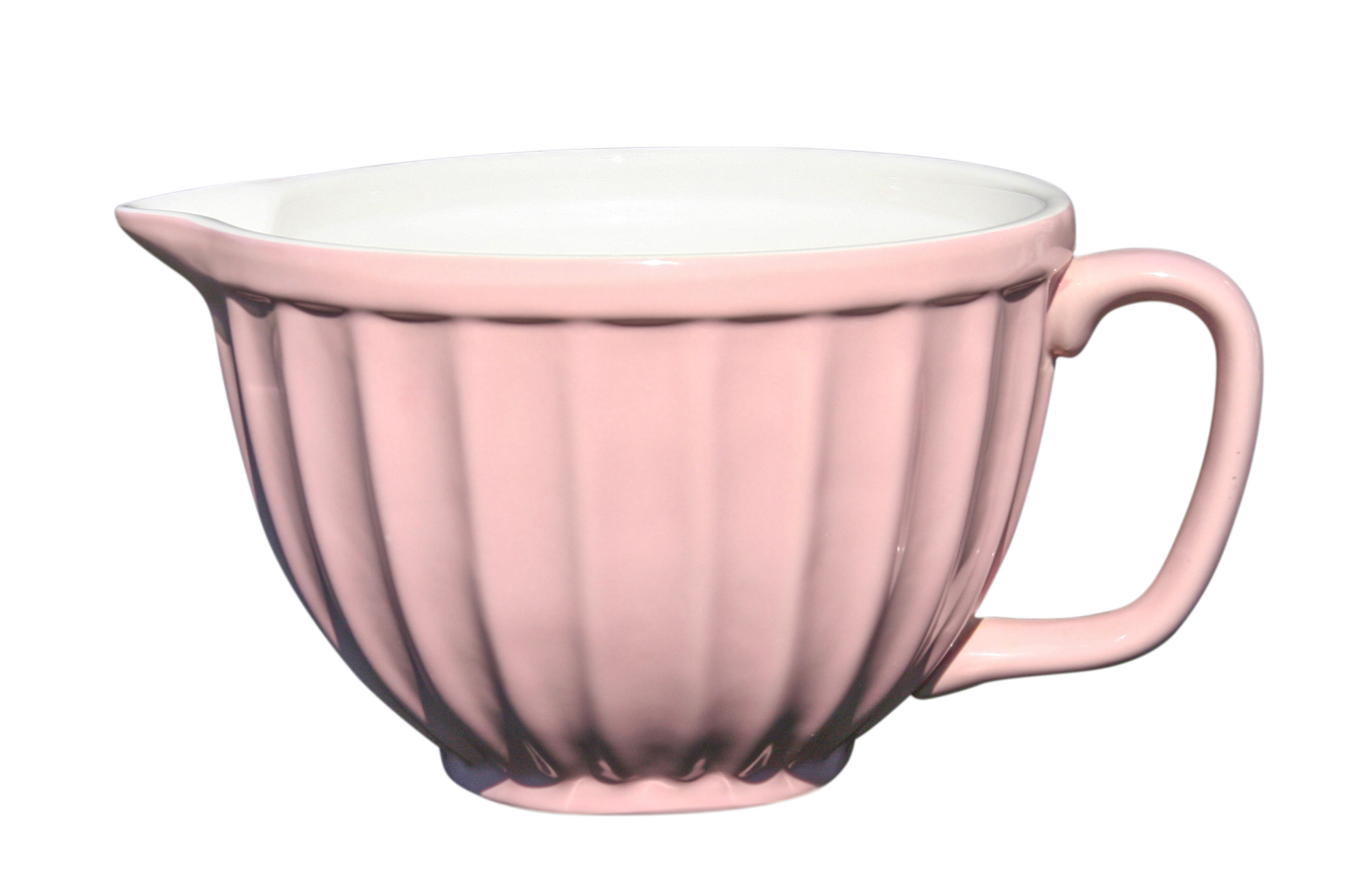 Teacup Mixing Bowl Large Pink