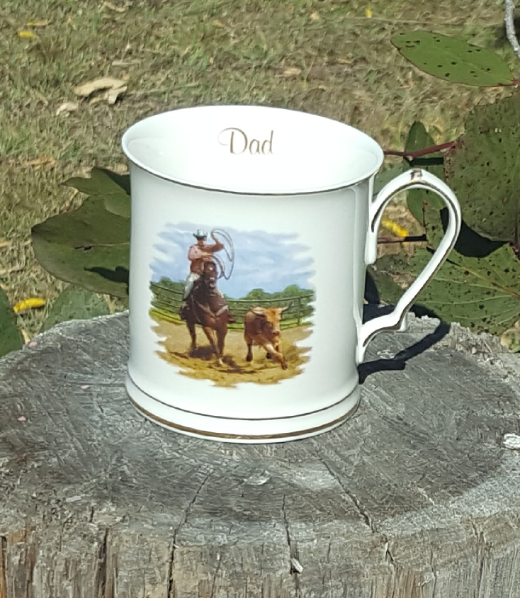 Dad Stockman Tankard