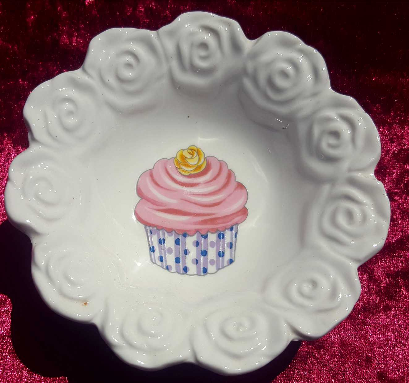 Cup Cake Candy Bowl