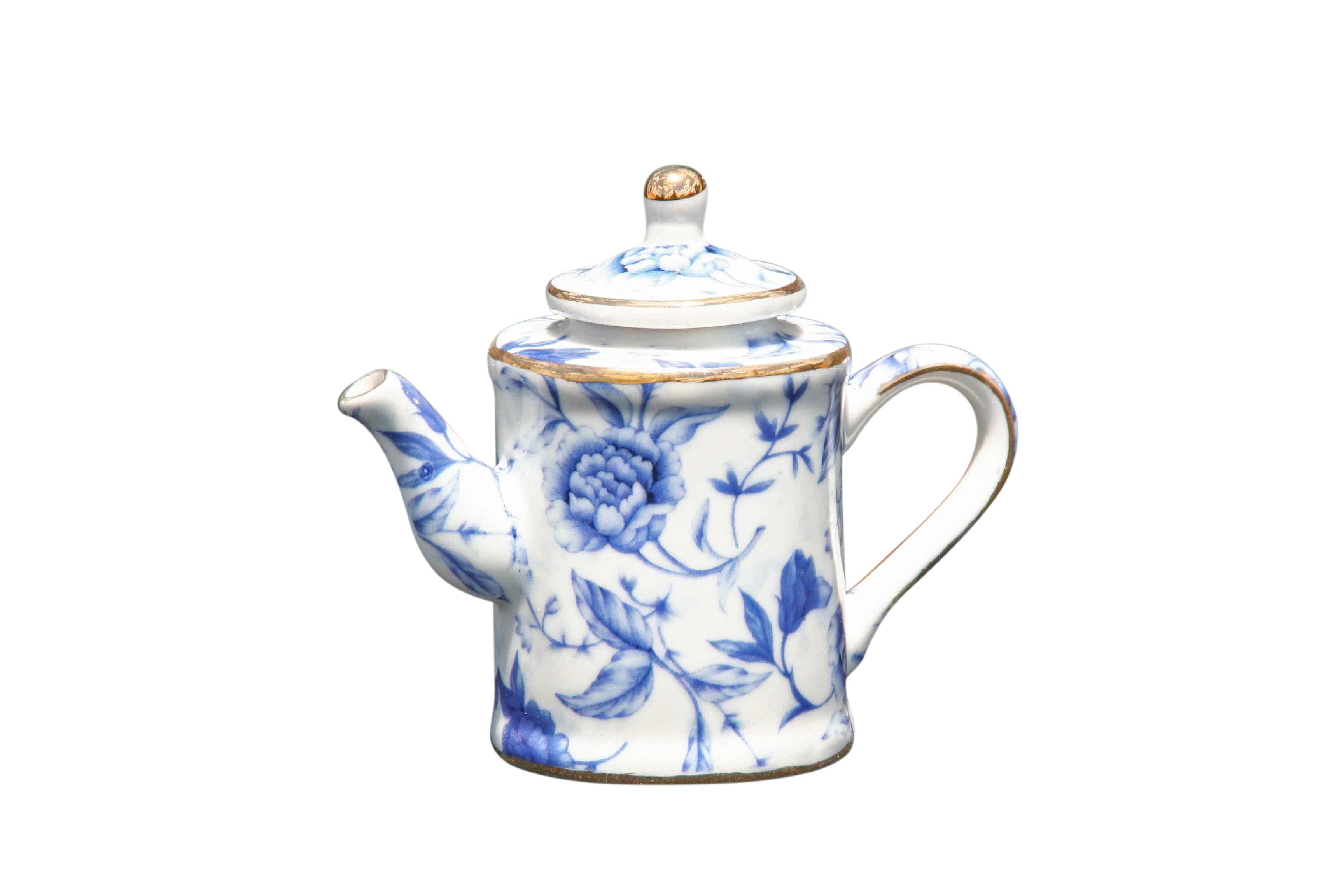 Blue Breeze Mini Teapot Jug Shape