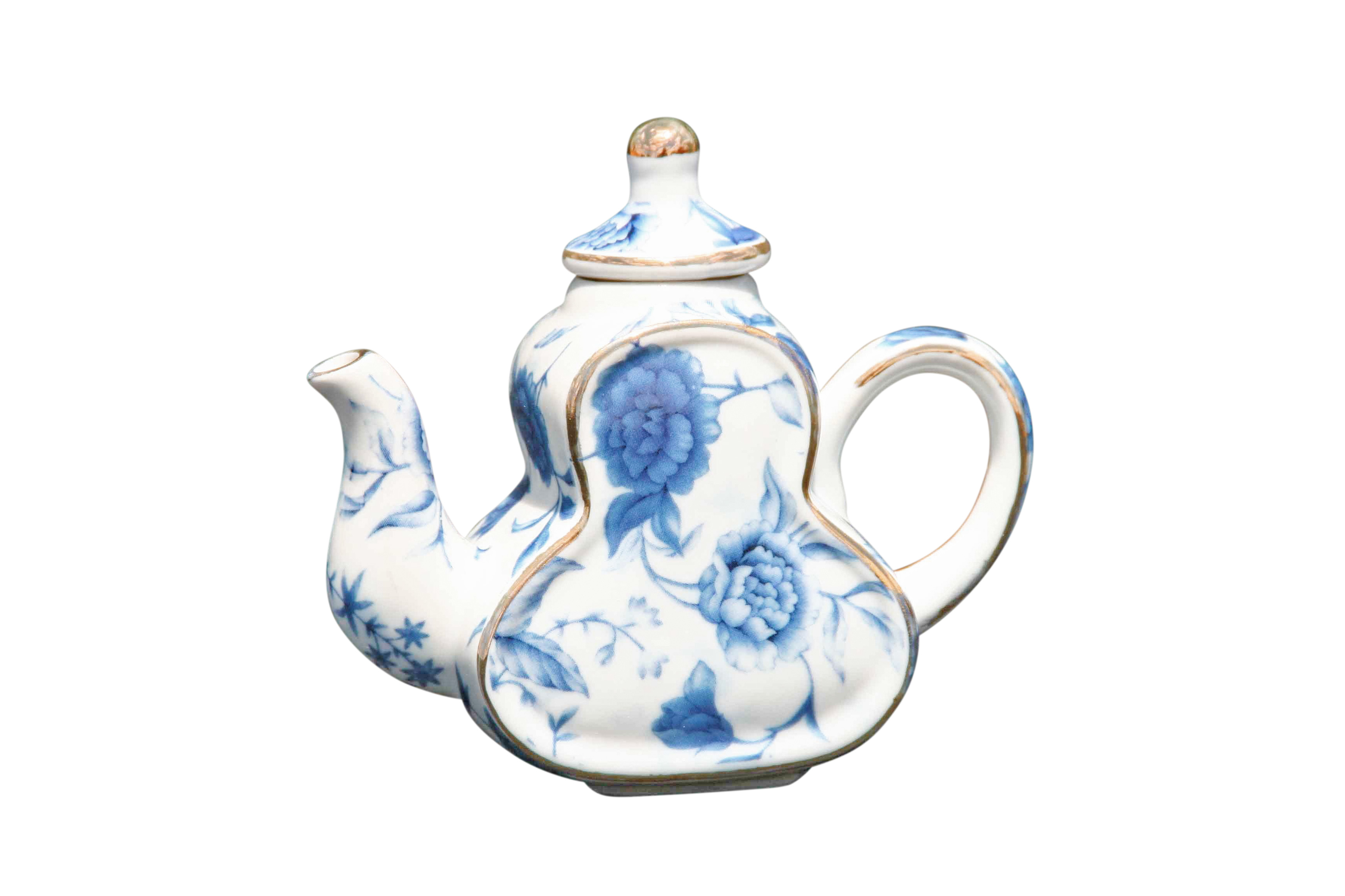 Blue Breeze Mini Teapot Pear Shape