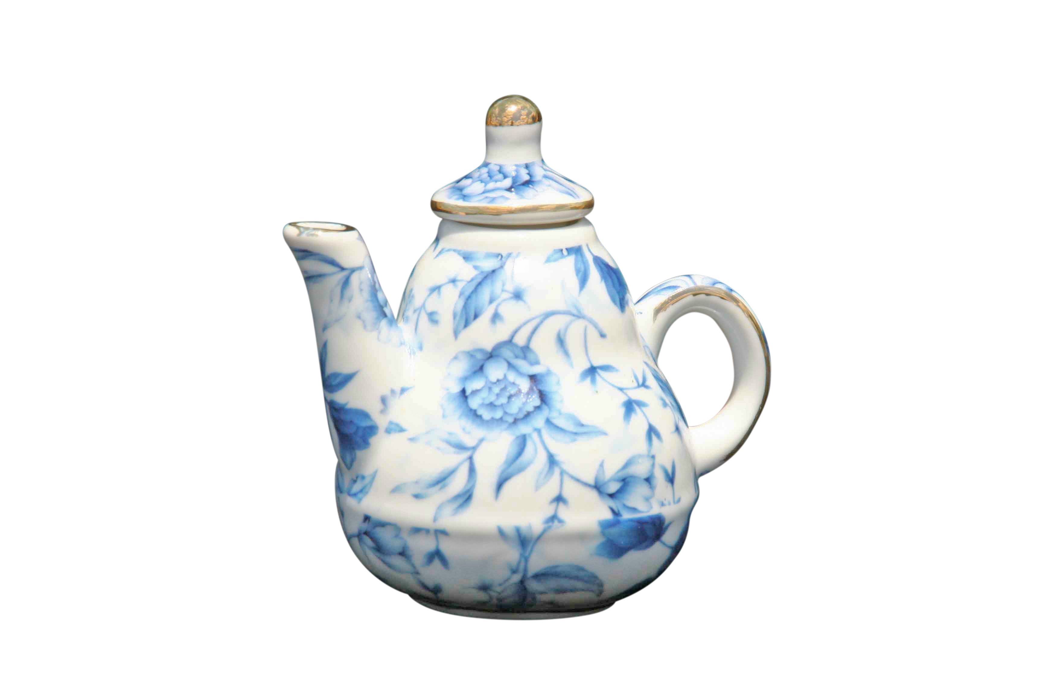 Blue Breeze Mini Teapot Traditional Shape