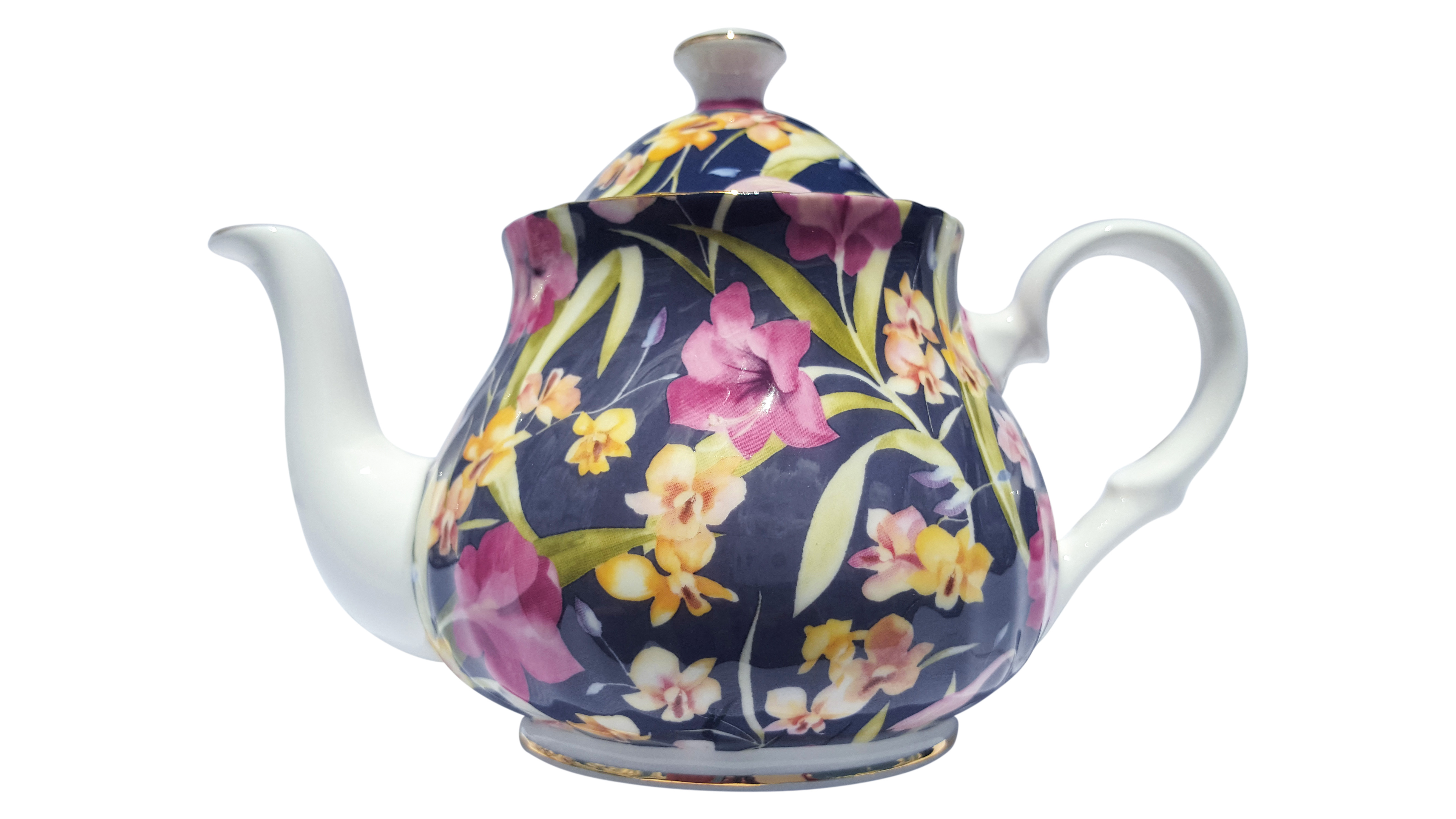 Night Orchid 2 Cup Teapot