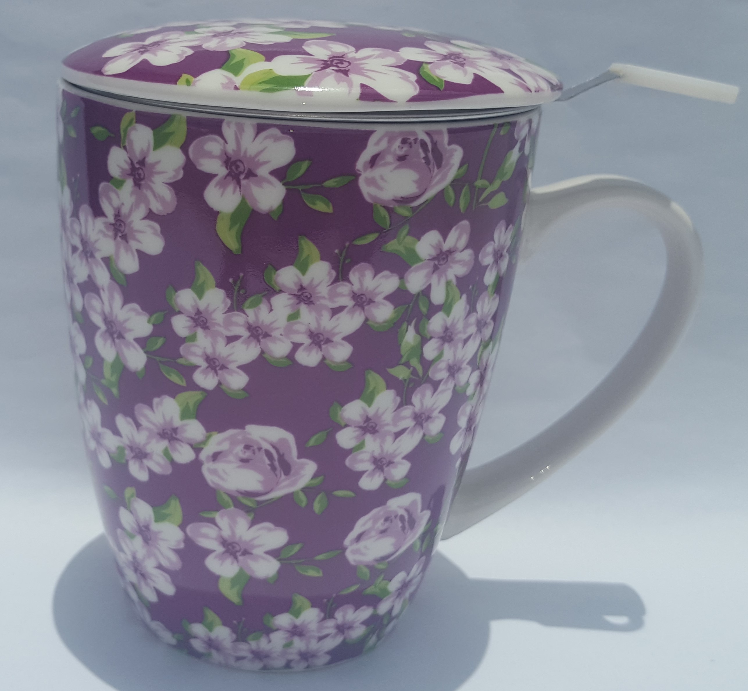 Violet Meadow Infused Beaker